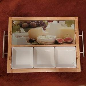 Cheese Tray NIB